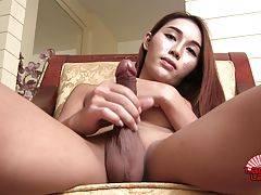 Sexy 20 yeas old thai ladyboy